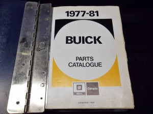 1977-1981 Buick Parts Catalog Canada Version