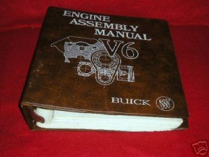 1985 engine assembly manual from Flint