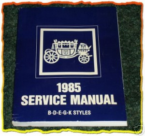 1985 buick service manual