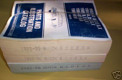 1990 buick parts catalog