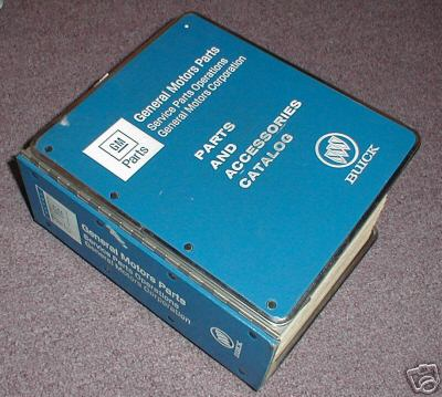82 - 90 GM PART NUMBERS BOOK