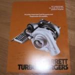garrett T3 booklet from 1977