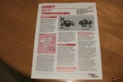 Garrett Turbocharger Brochures & Manuals