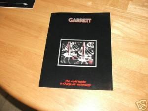 garrett brochure 1987