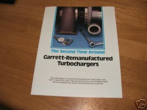 garrett reman turbo guide