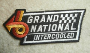 1987 buick grand national patch