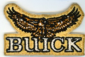 Buick Iron On Patches