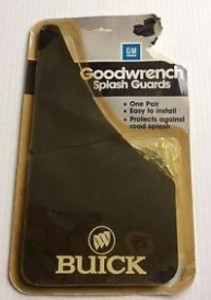 goodwrench buick splash guards
