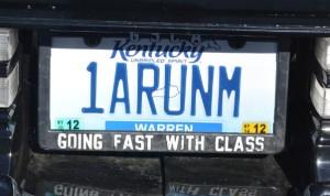 1 a run em plate