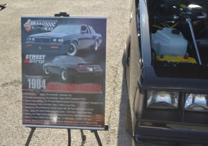 1984 buick grand national car show sign