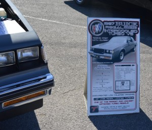 1987 buick regal limited sign