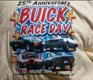 25th anniversary buick race day shirt