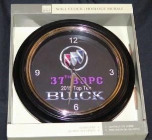 37th BOPC show top 10 clock