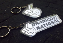 Acrylic Buick Grand National keychains 1