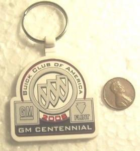 BCA 2008 GM Centennial key chain