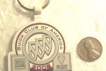 BCA BOC BDE & More Buick Keychains!
