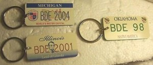 BUICK DRIVING ENTHUSIASTS KEY CHAINS