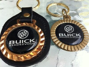 BUICK RENDEZVOUS KEYRINGS