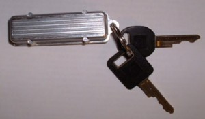 Buick Valve Cover Keychain