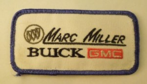 Marc Miller Buick GMC patch