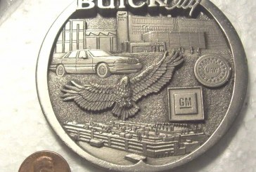 Buick Coins / Tokens / Medallions / Badges
