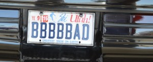 bbbbbad buick plate
