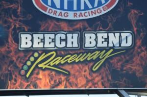 beech bend raceway sign