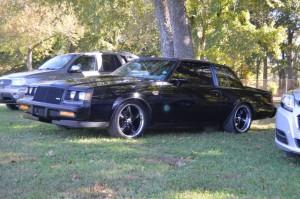 black rimmed buick grand national