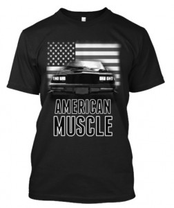 buick gn american muscle t-shirt