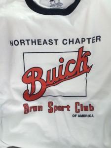 buick gran sport club t-shirts