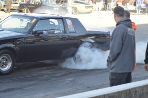 buick grand national burnout