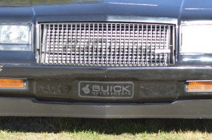 buick motorsports bumper