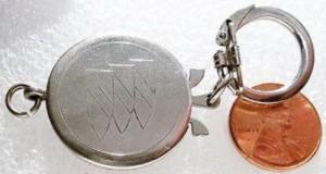 buick trishield key ring