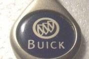 Buick Car Dealer Key Rings