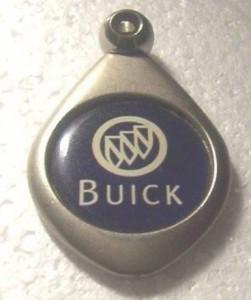 custom made buick dealership key chain