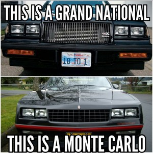 grand national vs monte carlo ss
