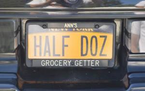 half dozen plate