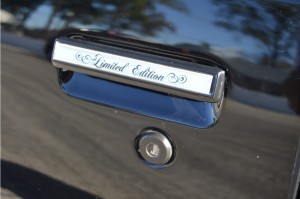 limited edition door inserts