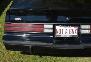 not a gnx