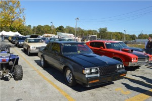 staging lanes at 2015 buick gs nationals 1