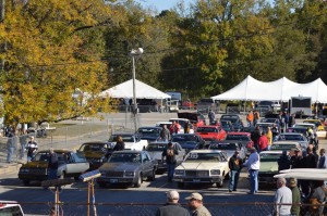 staging lanes at 2015 buick gs nationals 2