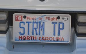 storm trooper license plate