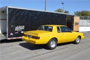 yellow buick turbo t