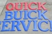 BIG Buick Wall Signs