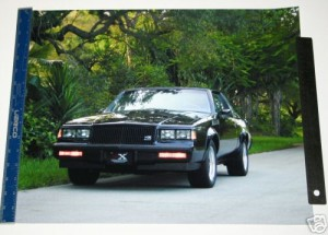 1987 BUICK GNX PHOTO