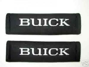BUICK SEAT BELT PADS