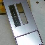 Buick Grand National simulated aluminum console overlay kit