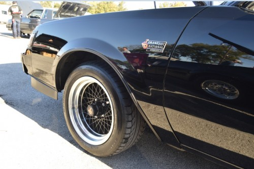 Buick Grand National with Buick GNX rims