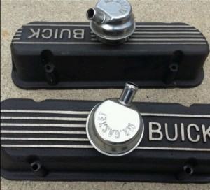 Poston Aluminum Buick Grand National valve covers