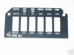 ashtray switch plate